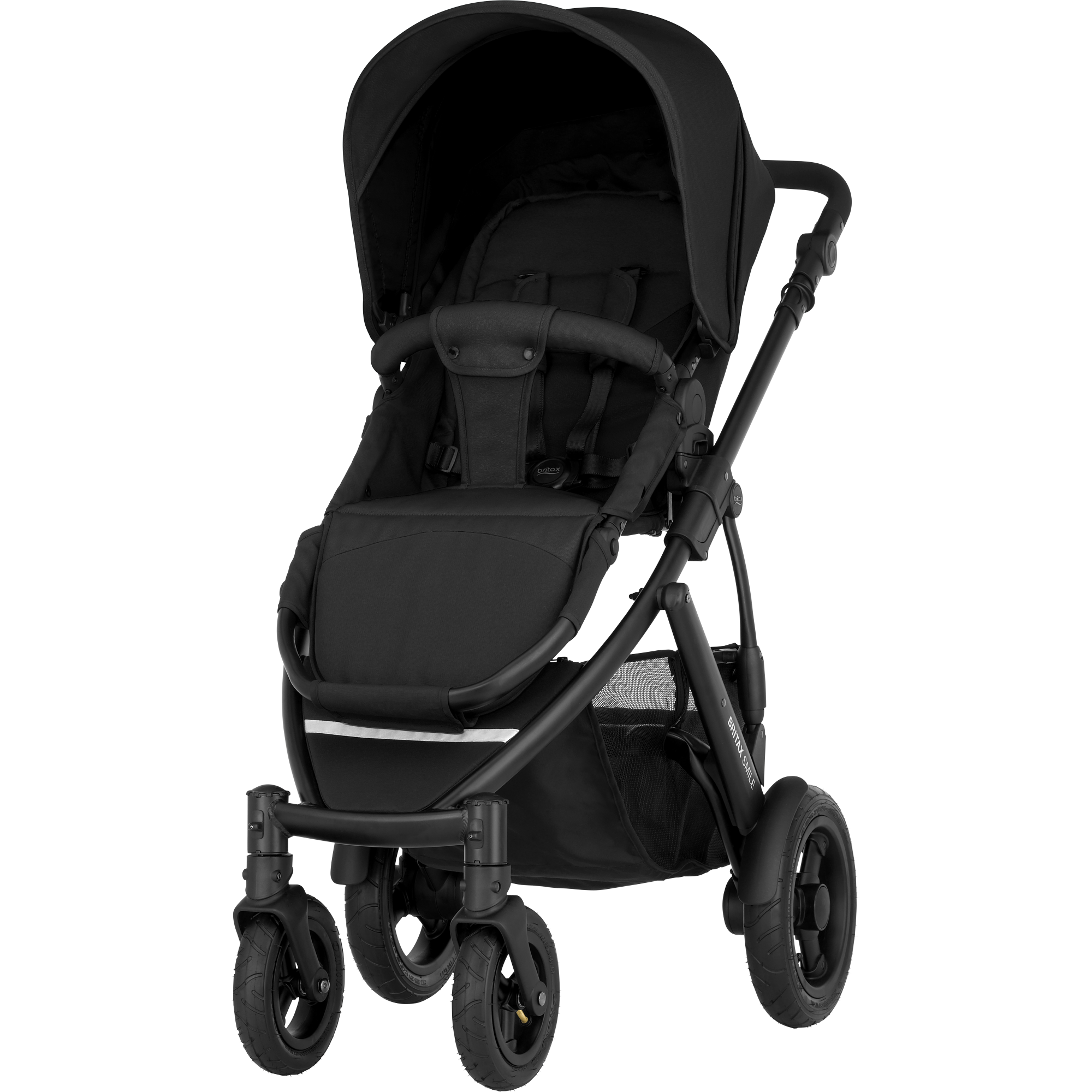 Red//Silver Chassis Britax 2000014505 Smile Kollektion 2015
