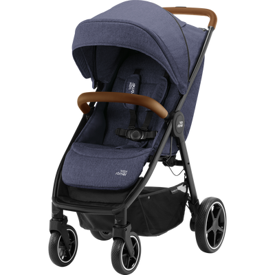 Britax B-AGILE R Navy Ink/Brown